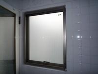 浴室に!普通の型板ガラスよりも見えにくいから安心ですね