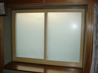二重窓大信プラストサッシ腰高窓