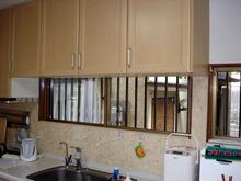 スペーシアES台所小窓
