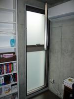 上段横滑り出し+下段FIXの段窓です。