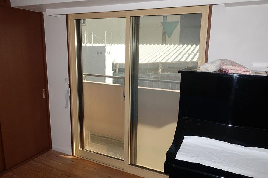 断熱と結露対策の為に設置した内窓プラスト