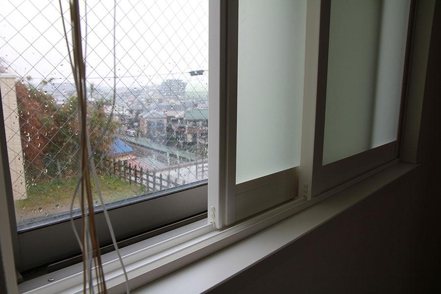 プラマードUを取り付けた窓