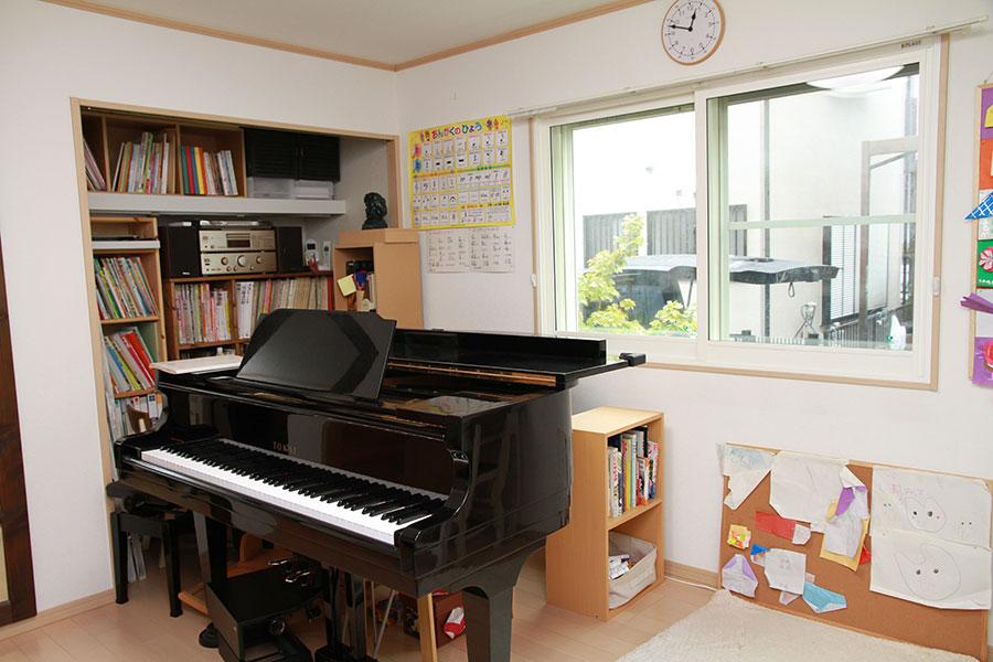ピアノとボーカルの教室から漏れる音を防ぎたい