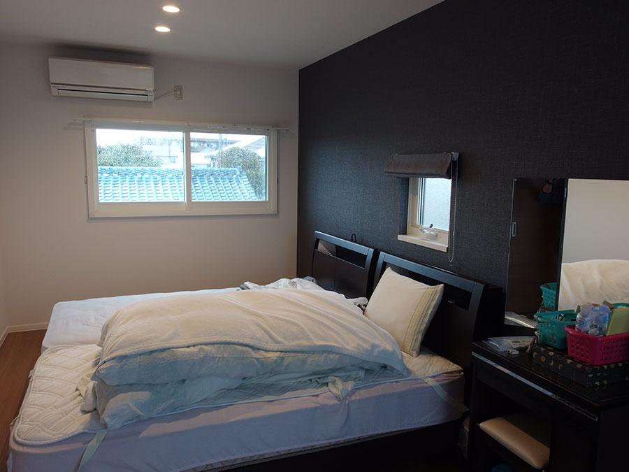 寒かった寝室を内窓の設置で窓からの冷気を断熱