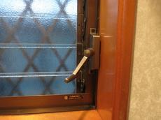 ガラスルーバー窓(ジャロジー窓)の修理