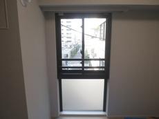 防音内窓大信工業内窓プラストをマンションの段窓に!